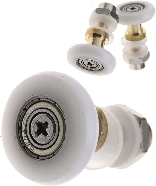 4 rouleaux de porte de douche partialit/é 27 mm
