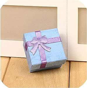 Theoutgoing Gift Boxes 1 Caja de Regalo de Papel para Collar, Pendientes, Anillos, Joyas, Accesorios, Bolsas de Papel para Regalos: Amazon.es: Hogar