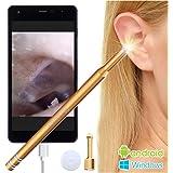 Plaisiureux 耳かき カメラ 高画質 みみかき マイクロスコープ 耳掃除 内視鏡 電子耳鏡
