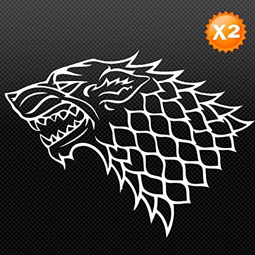 Galleon Game Of Thrones House Stark Grey Direwolf Emblem