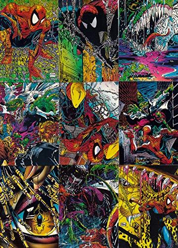 SPIDER-MAN THE MCFARLANE ERA 1992 COMIC IMAGES COMPLETE BASE CARD SET OF 90 MARVEL