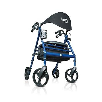 Amazon.com: Hugo Movilidad 700 – 905 – Wave Premium Rollator ...