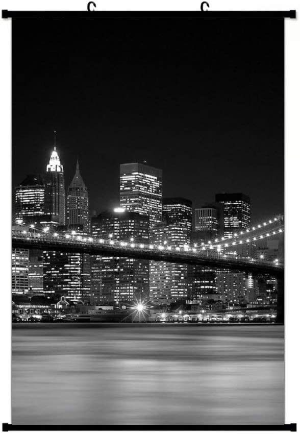 New York State of Mind Wall Scroll Poster Hanging Home Art Print Hanger Decor Painting 16x24 Inch