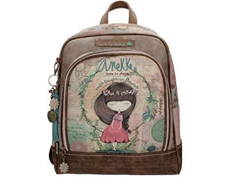 Sany Bags S.L. Anekke Nature School Backpack Portatraje de Viaje, 41 cm, (Multicolour