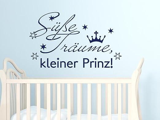 Wandaufkleber Sterne Wandsticker Wandtattoo Schlaf schön Kinderzimmer