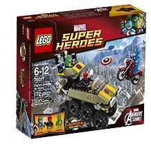 LEGO Superheroes Captain America vs. Hydra - 76017