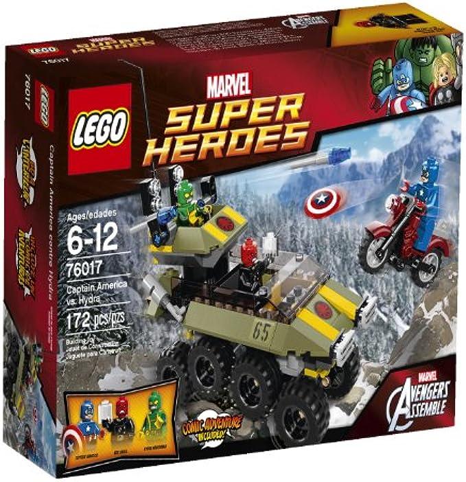 LEGO Superheroes 76017 קפטן אמריקה