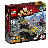 LEGO Superheroes Captain America vs. Hydra (76017)