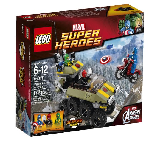 Captain+America Products : LEGO Superheroes Captain America vs. Hydra (76017)