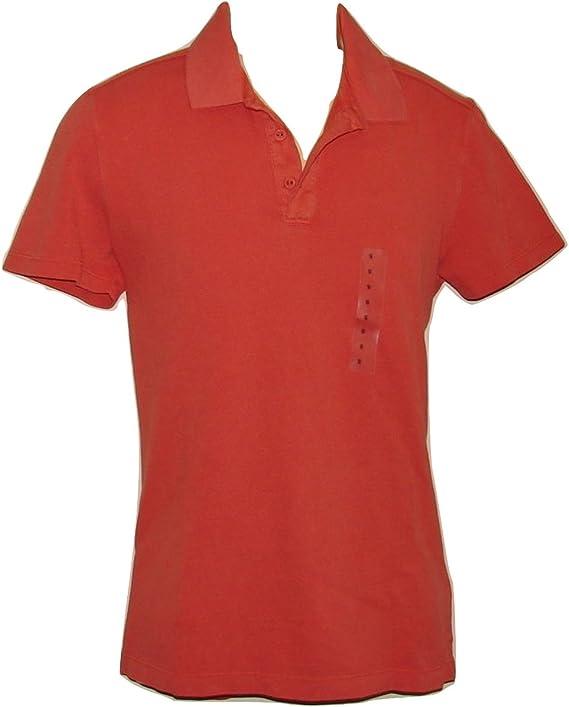 delgado color s/ólido de algod/ón Camiseta de manga larga para hombre cuello redondo