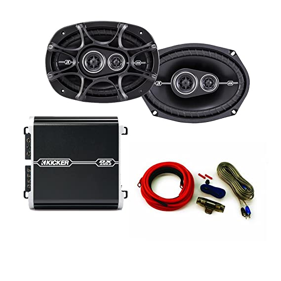 Sensational Amazon Com Kicker Ds 6X9 Speaker Package With Kicker Dx 125 Watt 2 Wiring 101 Cominwise Assnl