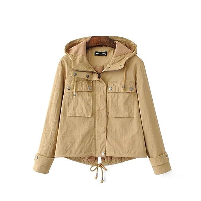 COCO clothing Donna Inverno Maniche Lunghe Giacca Cappotto