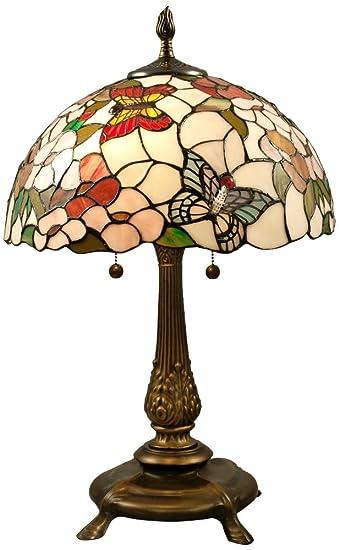 Dale Tiffany TT100361 Butterfly Lamp