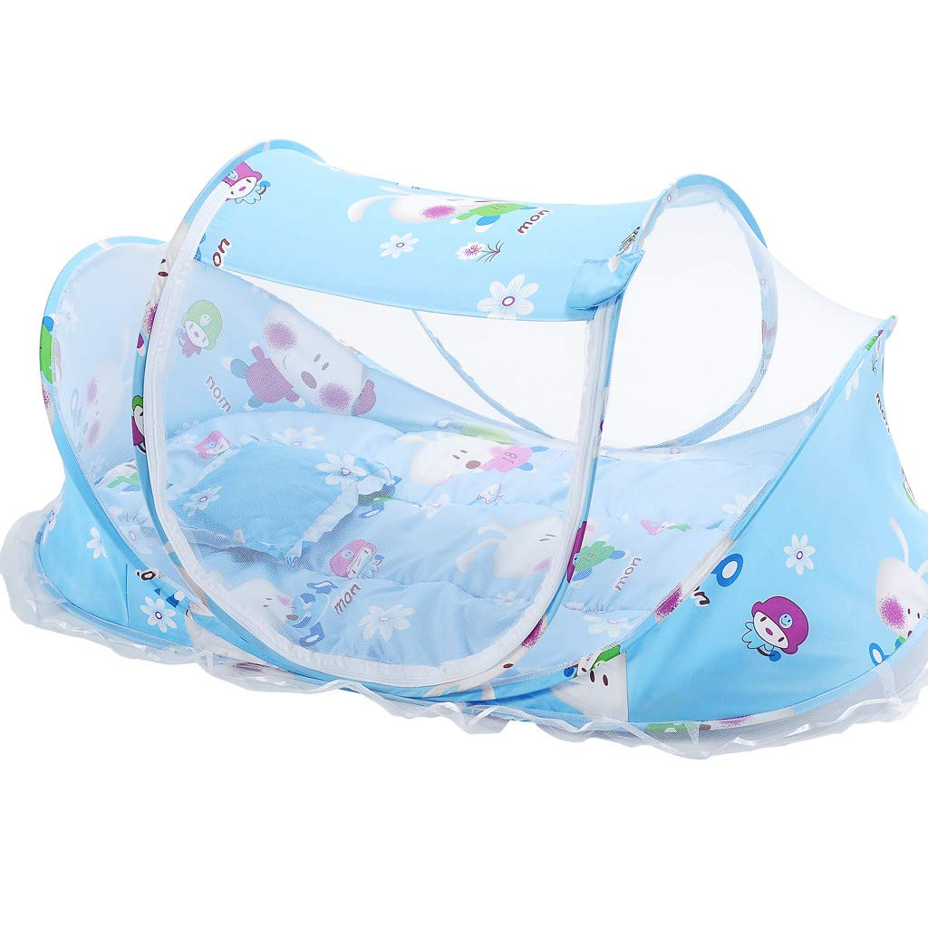 Cute Baby Princess Canopy Crib Netting Dome Bed Mosquito Net Curtain for Nursery