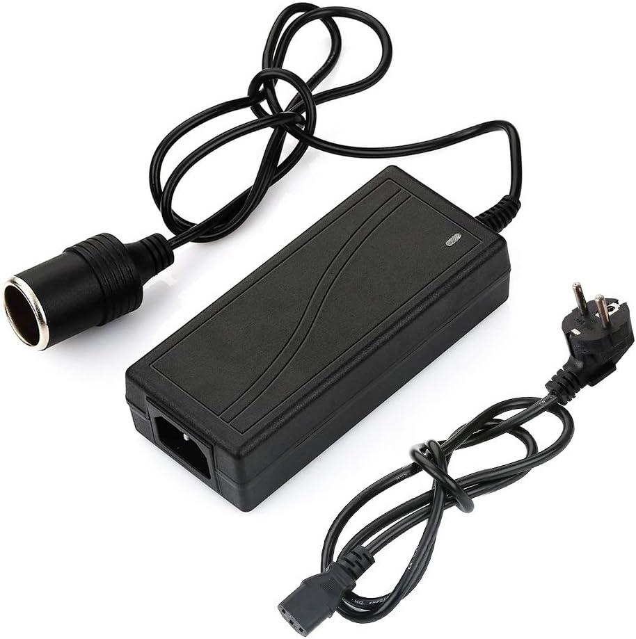 Surfmall Netzadapter Spannungswandler Kfz Auto Power Konverter Transformer 5a 12v 60 W 100v 240v Ac 50 60hz Adapter Für Zigarettenanzünder Auto
