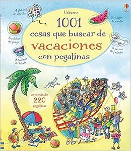 1001 cosas que buscar de vacaciones con pegatinas: Hazel Maskell: 9781409589693: Amazon.com: Books