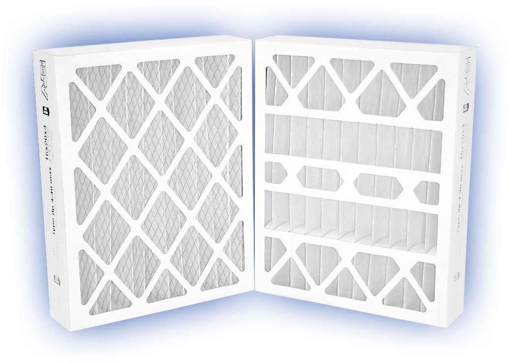 MERV 8 4-Pack 20 x 25 x 4 DP MAX40 Pleated Panel Filter