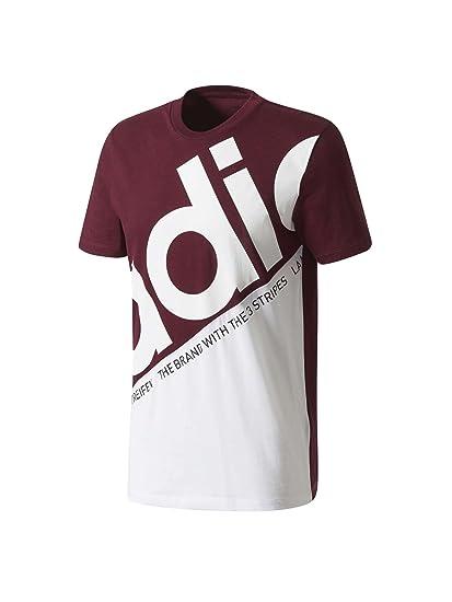 Adidas Pete Cl tee Camiseta, Hombre, (Granat), XL