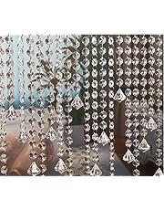 Starsglowing 33 voet acryl kristal slinger kristal helder acryl kraal slinger hangende partij decoratie bruiloft DIY decoratieve hanger