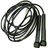 Pro Speed Skipping Rope Jumping Speed Boxing Exercise (Black)