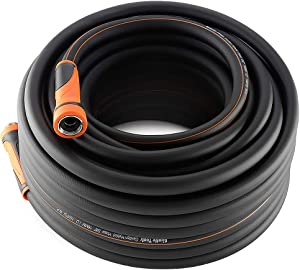 Giraffe Garden Hose,Water Hose Hybrid 5/8 in.x100FT, SwivelGrip/Heavy Duty/Lightweight/Flexible Hose