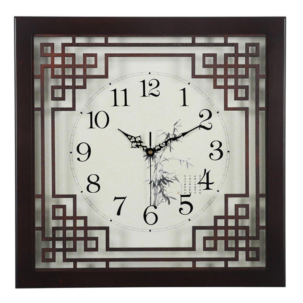 SESO UK- Design Vintage Retro Wanduhr Holz Wohnzimmer Hanging Quartz Uhren