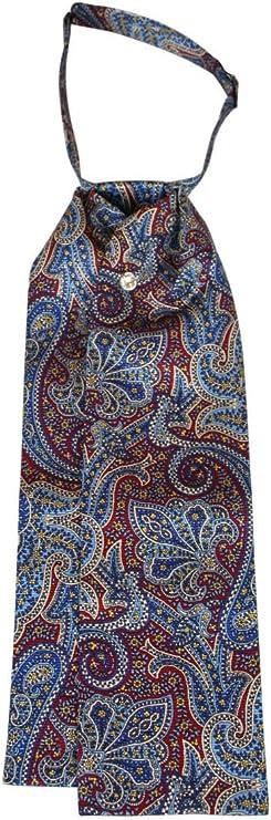 Victorian Men's Clothing, Fashion – 1840 to 1890s Historical Emporium Mens Silk Paisley Puff Tie  AT vintagedancer.com