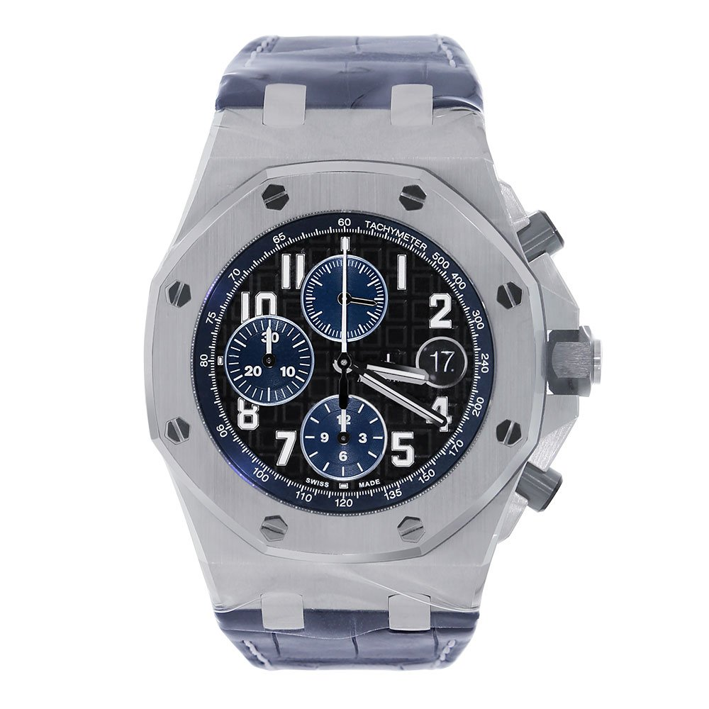 8a6f5460a6d3 Amazon.com  Audemars Piguet Royal Oak Offshore Chronograph 42mm Midnight  Blue Watch 26470ST.OO.A028CR.01  Watches