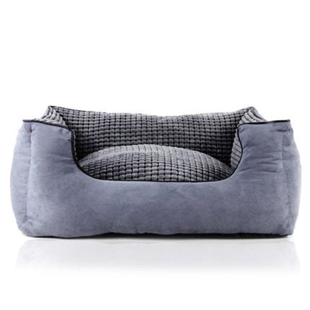 1 M  1 M Pet Nest Cat Litter Kennel Pet Dog House Mat Comfortable Soft Keep Warm Autumn And Winter Pet Supplies ( color    1 , Size   M )