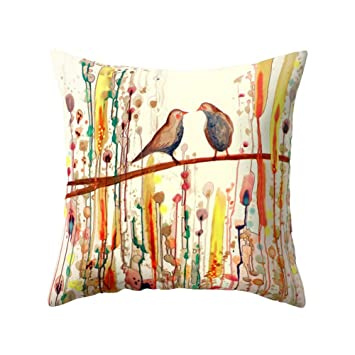 Amazon.com: Funda de almohada para sofá, cama, sala de estar ...