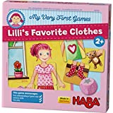 HABA My Very First Games - Lilli's Favorite Clothes Memory Game (Made in Germany)