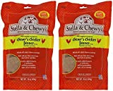 Stella & Chewy's Freeze Dried Dog Food for Adult Dogs, Chicken Patties, 15 Ounce Bag - 2 Pack