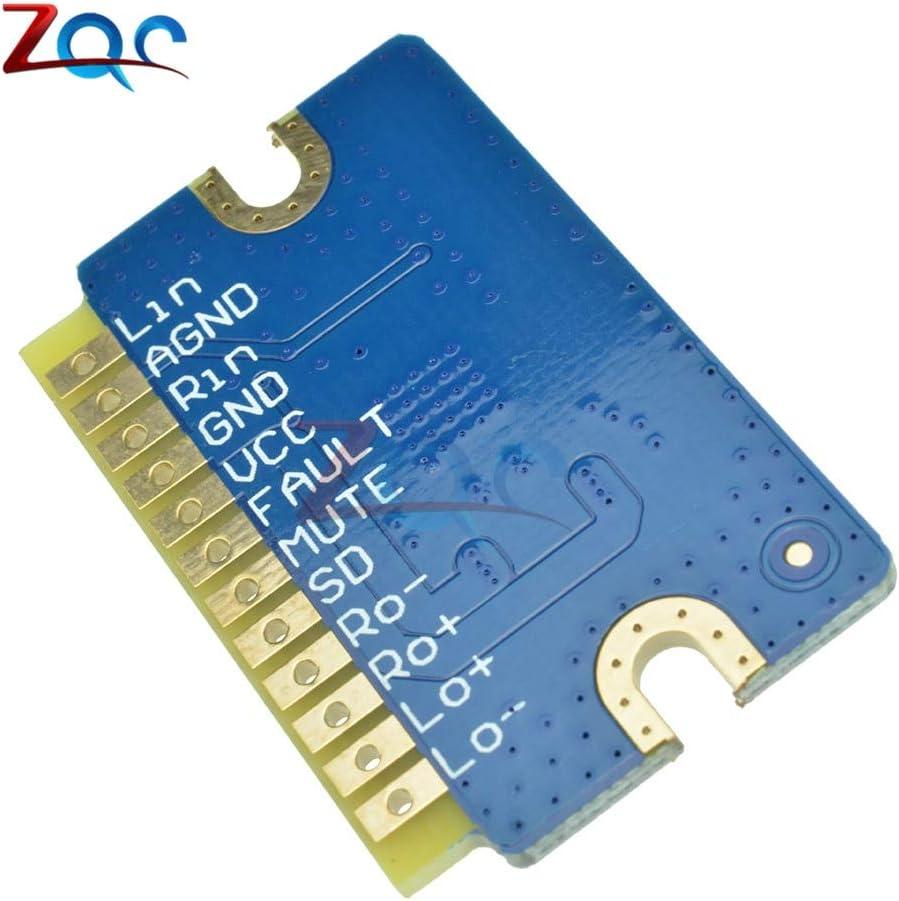 DollaTek M/ódulo amplificador de audio de placa amplificadora de potencia digital DC 12v-24v 20w