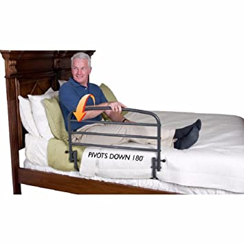 info for 91cd5 c71b6 Amazon.com: Bed Rail For A Queen Size Bed Elderly Safety ...
