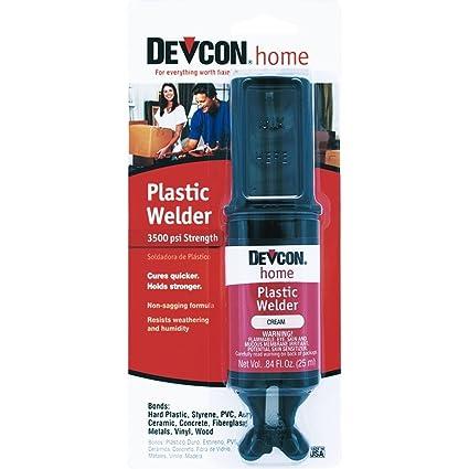 Amazon.com: Devcon Home 22045 Plastic Welder 3500 PSI Strength in ...