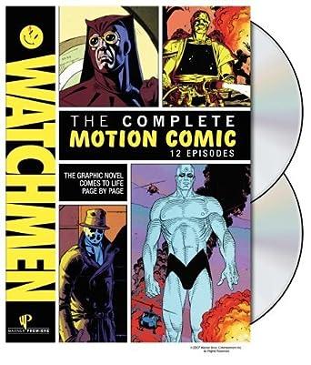 Watchmen: Complete Motion Comics [Reino Unido] [DVD]: Amazon ...