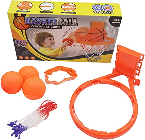 4Pcs Basketball hoop balls playset for boy girls bathtub shooting bath game O Ll