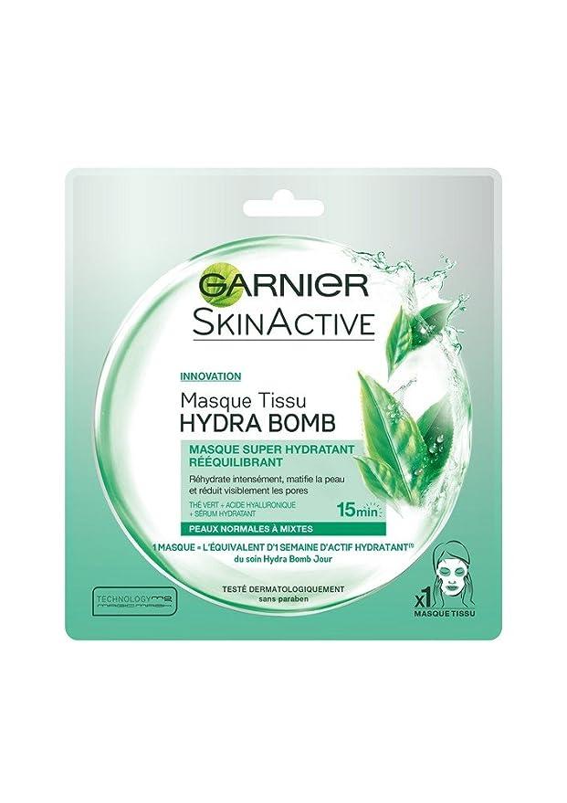 magasin en ligne beauté en arrivant Garnier Skin Active Hydrabomb Masque Tissu