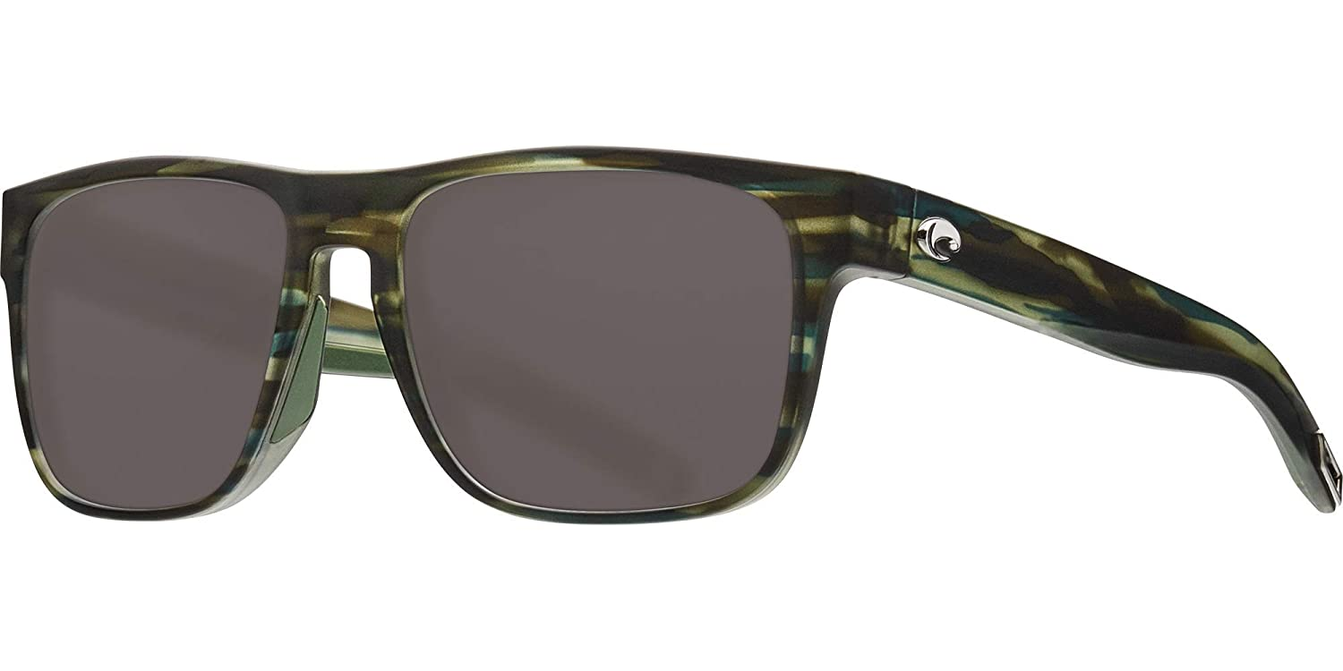 094be6d202 Amazon.com  Costa Del Mar - Spearo - Matte Reef Frame-Grey 580 Poly  Polarized Lenses  Clothing