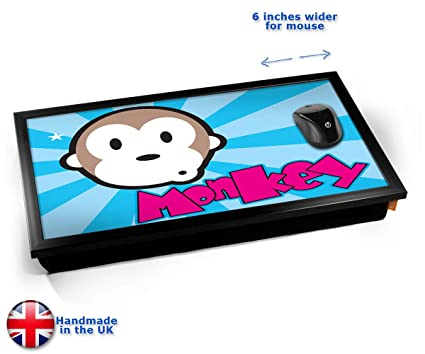 Monkey Computer Laptop Tray Cojín Bandeja para Portátil ...