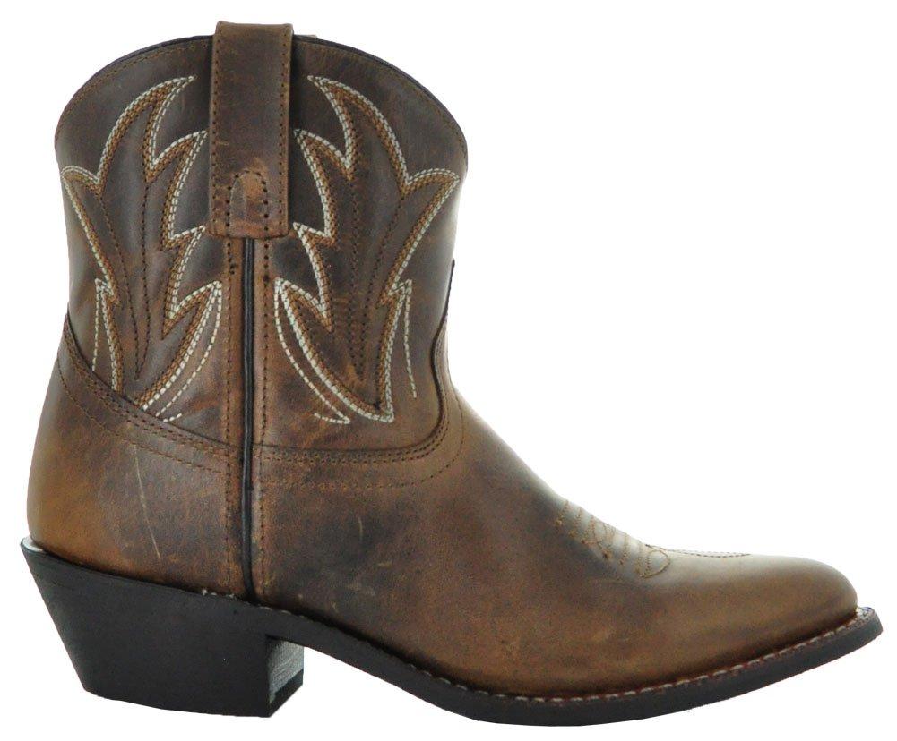 Soto boty boty Janis dámské kotníkové kovbojské M3003 boty od Janis M3003  Hnědý 2b507f9 - catuma.club 129025a79c3