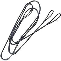ZSHJG Tiro al Arco Dacron Cuerda del Arco 12,14,16 Strands Cuerdas de Proa 48 a 70 Pulgadas para Arco Recurvo Largo Arco