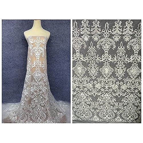 Wedding Dress Fabric: Amazon.com