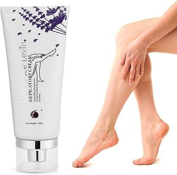Crema depilatoria sin dolor para las piernas Armpit Bikini en el ...