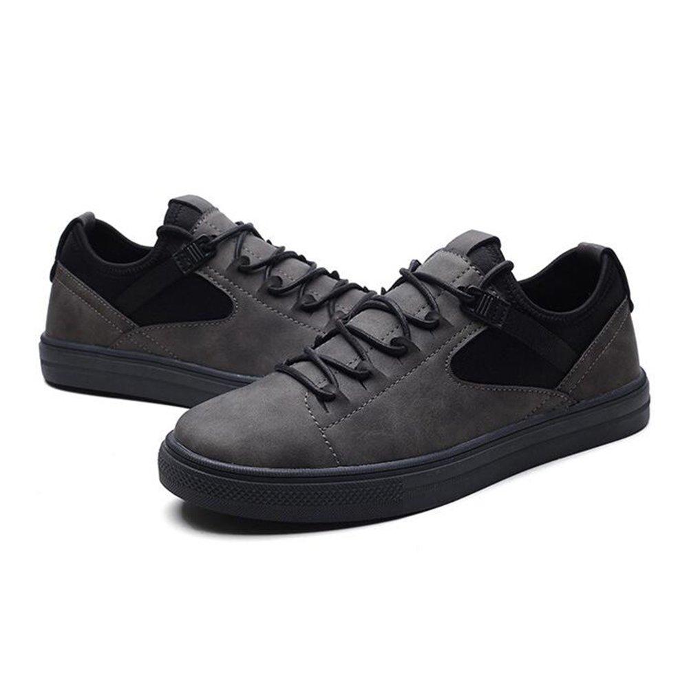 Skateboard Schuhe Mens Retro Fashion Flexible Breathable Beilauml;ufige Turnschuhe  40.5 EU|Gray