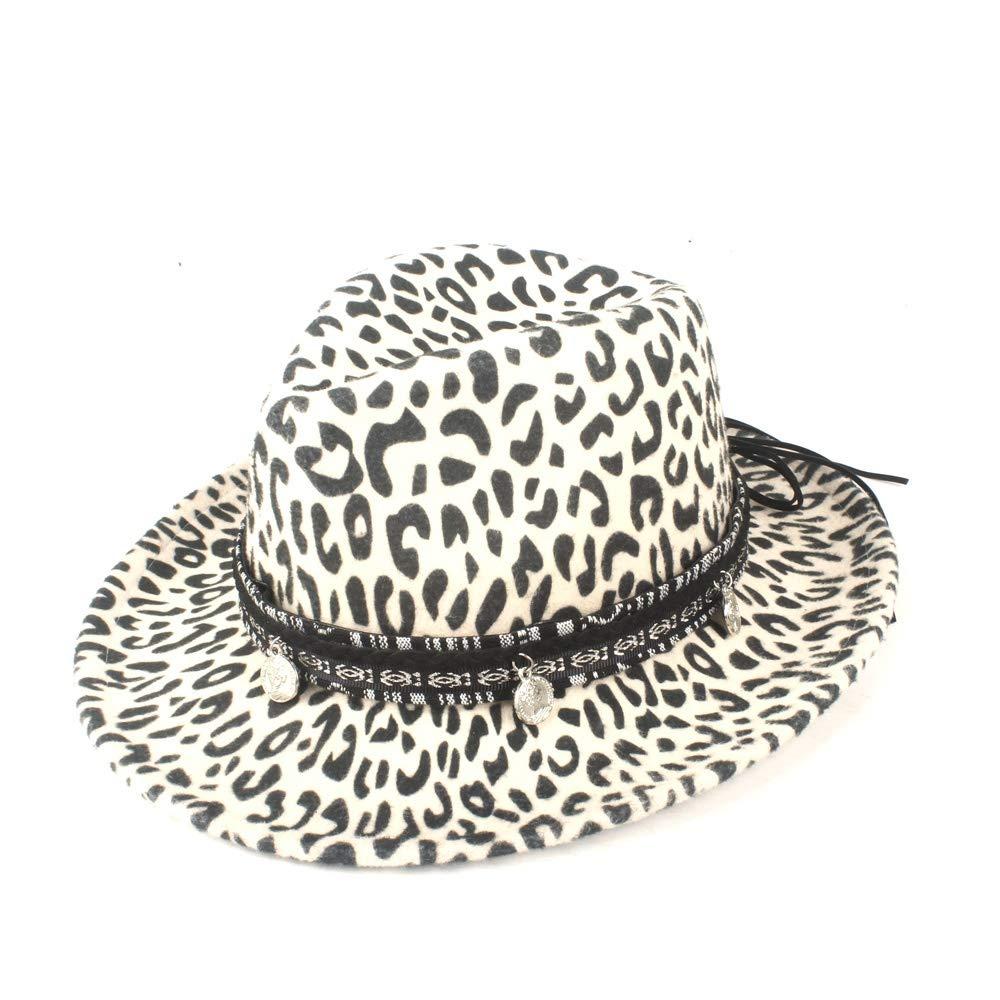 QiuKui Gorra de Vaquero y Sombrero de Copa, Sombrero de Fedora de ...