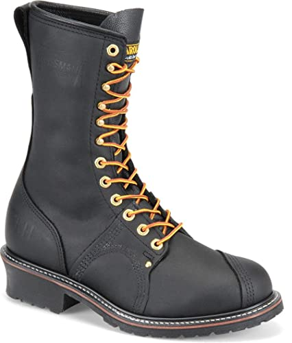 100% Real Cheap Mens Carolina 16 Domestic Logger Boot Black Mens Black Carolina Mens Carolina