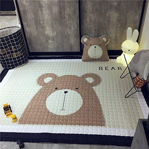Giraffe 57x77 Inch LAGHCAT Children Rug Thickening Carpet with Animal Soft Christmas Mat for Baby Creeping