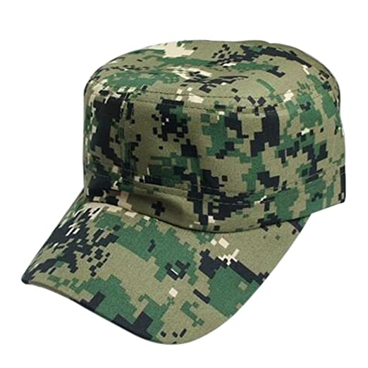 Baseball Caps Men Women chaofanjiancai Hats Hip-Hop Army Military  Camouflage Outdoor Climbing (Free aed3a96c64