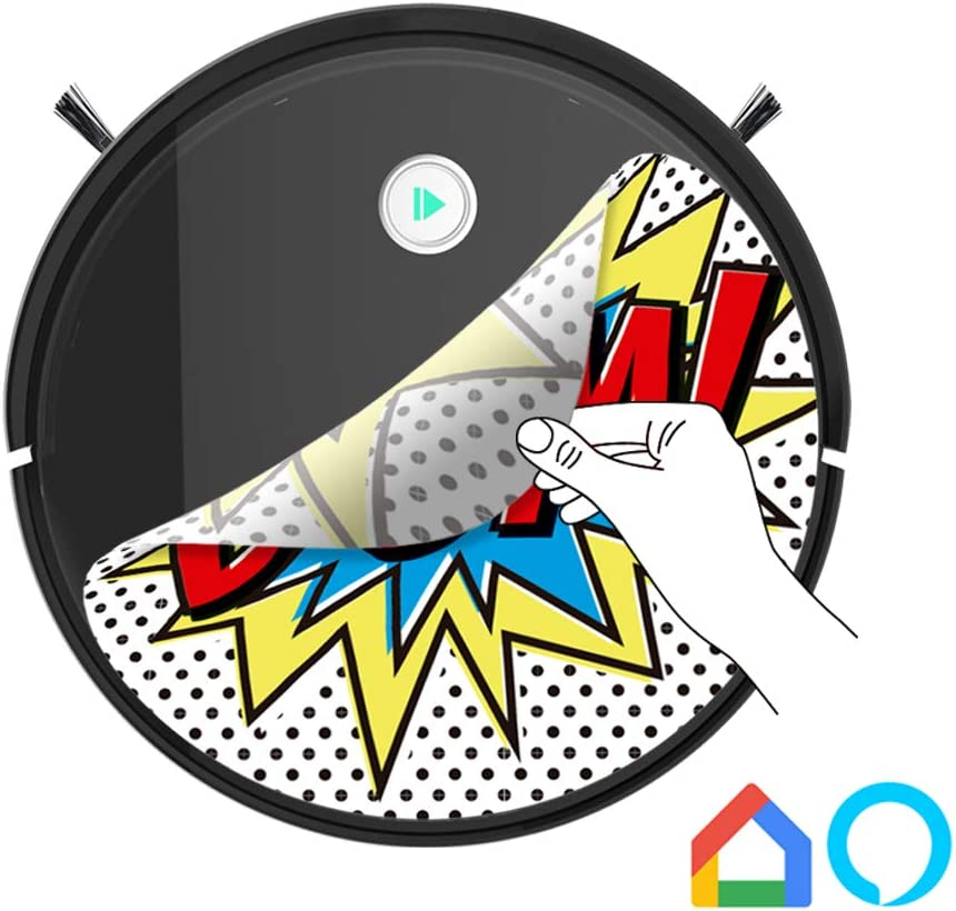 autom/ático Carga mapeo navegaci/ón Inteligente y App friega y Pasa la mopa Especial Mascotas Robot Aspirador y Fregasuelos 4 en 1 IKOHS NETBOT S15 Barre aspira para Suelos Duros y alfombras